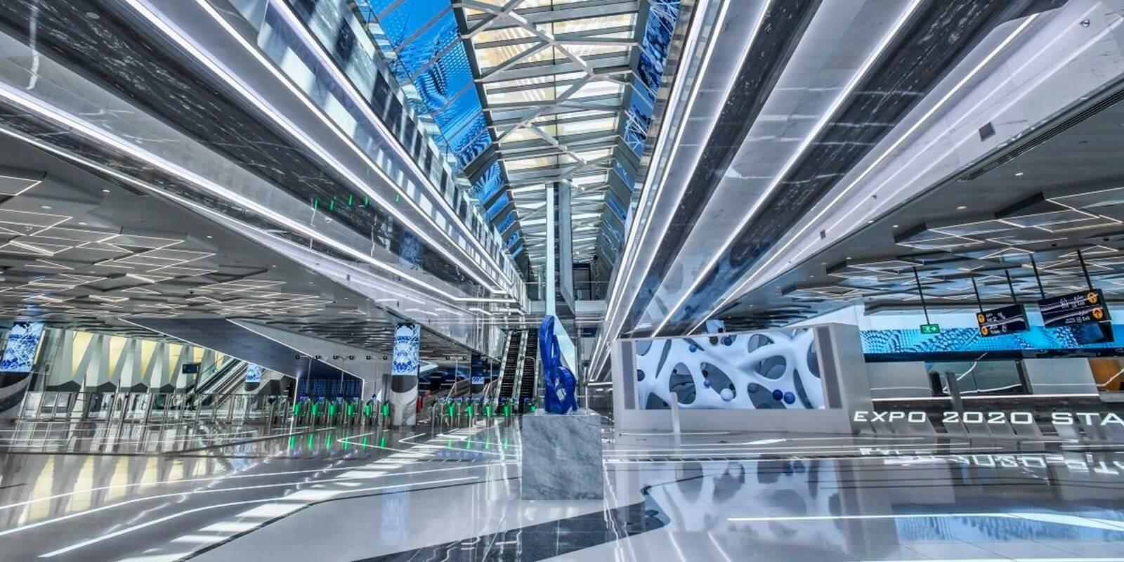 """The Dubai Metro """"Route 2020"""""""
